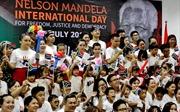 Nhiều hoạt động từ thiện xã hội nhân kỷ niệm Ngày Quốc tế Nelson Mandela 18/7