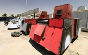 Hình thù kỳ lạ dàn 'vũ khí chiến tranh' tự chế của IS