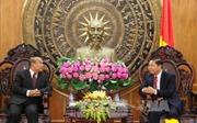 Đoàn Bộ Lễ nghi và tôn giáo Vương quốc Campuchia thăm tỉnh Long An