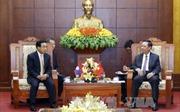 Phó Chủ tịch nước Lào Phankham Viphavanh thăm tỉnh Hòa Bình