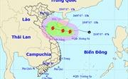 Áp thấp nhiệt đới đã mạnh lên thành bão số 4