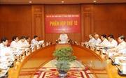 Phiên họp thứ 12 Ban Chỉ đạo Trung ương về phòng, chống tham nhũng