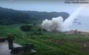 Xem uy lực tên lửa Hàn Quốc xuyên thủng boong-ke ngầm