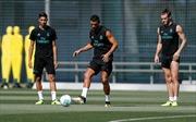 Cristiano Ronaldo chính thức trở lại tập luyện cùng Real Madrid
