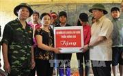 Bộ trưởng Tài nguyên và Môi trường thăm người dân vùng lũ Mù Cang Chải