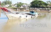 Hai người may mắn thoát nạn vụ chìm ghe trên sông Bạc Liêu - Cà Mau