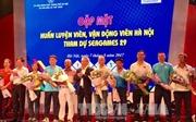 'Truyền lửa' cho các vận động viên Thủ đô tham dự SEA Games 29