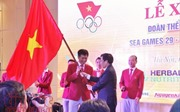 Lễ xuất quân Đoàn Thể thao Việt Nam: Long trọng, hoành tráng và đầy khí thế