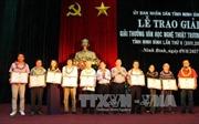 Trao Giải thưởng Văn học Nghệ thuật Trương Hán Siêu lần thứ V