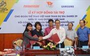 Tập đoàn Samsung và Nguyễn Kim tài trợ Đoàn Thể thao Việt Nam dự SEA Games 29