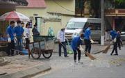 Hà Nội ra quân tổng vệ sinh môi trường chống dịch sốt xuất huyết