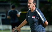 HLV U22 Singapore châm chọc ban tổ chức SEA Games 29