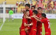 Aung Thu lập cú đúp, U22 Myanmar đánh bại U22 Singapore