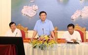 Phó Thủ tướng Vương Đình Huệ làm việc tại tỉnh Quảng Ninh