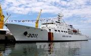 Tàu Lực lượng Bảo vệ bờ biển Hàn Quốc cập cảng Tiên Sa