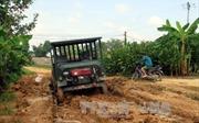 Tuyên Quang: Đường độc đạo liên xã xuống cấp nghiêm trọng