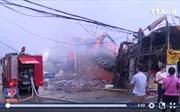 Hà Nội: Cháy lớn tại siêu thị Thành Đô