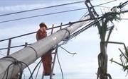 Hệ thống lưới điện Quảng Bình tan hoang sau bão số 10