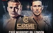 3 giờ sáng 17/9: MMA Cage Warriors chính thức khởi động