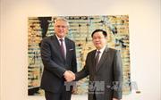 Việt Nam và Bỉ nhất trí mở rộng quan hệ hợp tác song phương