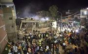 Rúng động cảnh trường học đổ sập trong động đất ở Mexico, 22 học sinh bị vùi lấp