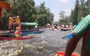 Du khách 'khóc thét' trên sông khi động đất xảy ra tại Mexico