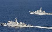 Tàu Trung Quốc tiến vào vùng biển giáp Nhật Bản