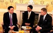 Phó Thủ tướng Vương Đình Huệ kết thúc chuyến thăm và làm việc tại Slovakia
