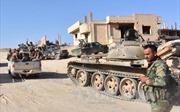 Quân đội chính phủ Syria giành lại hàng chục thị trấn từ tay IS