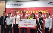 Vietlott trao giải đầu tiên trúng thưởng Jackpot sản phẩm Power 6/55