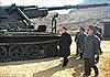 Loạt ảnh Kim Jong Un thị sát nơi tiền tuyến