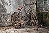 Lão nông mê xe đạp cổ