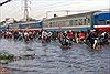 TP. Hồ Chí Minh: Triều cường vượt mức báo động III