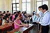 Hơn 74% thí sinh tới làm thủ tục đợt ĐH đầu tiên