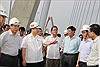 Bảo đảm hoàn thành Dự án cầu Nhật Tân trong năm 2014