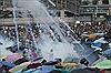 Cảnh sát chống bạo động Hong Kong rút đi