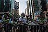 Đụng độ tái diễn trong biểu tình ở Hong Kong