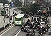 Lắp dải phân cách cứng tại 4 nút giao để ngăn lấn làn xe buýt nhanh