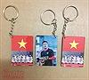 Độc đáo móc chìa khóa in hình U23 Việt Nam phục vụ cổ động trận chung kết