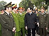 Chủ tịch nước Trương Tấn Sang thăm Bộ Tư lệnh Cảnh sát cơ động