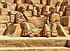 Độc đáo những tác phẩm điêu khắc trên cát