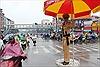 Nữ cảnh sát giao thông ngày đầu 'xuống phố'