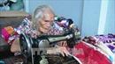 Cụ bà 93 tuổi vẫn lụi cụi may chăn tặng người nghèo