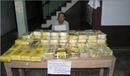 Bắt quả tang một người Lào vận chuyển 40 kg ma túy tổng hợp