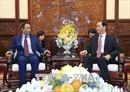 Chủ tịch nước Trần Đại Quang tiếp Đại sứ UAE chào kết thúc nhiệm kỳ