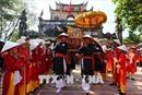 Hàng vạn người đội nắng xem hội trận - nghi lễ chính của hội Gióng đền Phù Đổng