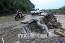 Ủy ban Trung ương MTTQ thăm hỏi người dân miền núi phía Bắc bị thiệt hại do mưa lũ