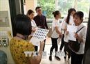 Hơn 98,5% thí sinh làm thủ tục dự thi THPT Quốc gia chiều 24/6