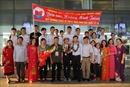 Rạng rỡ ngày về của đoàn Việt Nam tham dự Olympic Sinh học 2018
