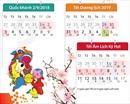 Quốc khánh 2/9 và Tết Dương lịch, Âm lịch được nghỉ tổng cộng 16 ngày